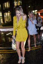 Caz Daily Night Out Style - Leaving Menagerie Restaurant and Bar in Manchester 05/27/2017