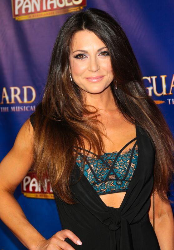 """Cerina Vincent - """"The Bodyguard"""" Opening Night at the Pantages Theater in LA 05/02/2017"""
