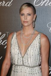 Charlize Theron - Chopard Trophy Event in Cannes, France 05/22/2017