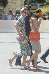 Charlotte Casiraghi and Dimitri Rassam - Heading to a Wedding in Rome 05/27/2017