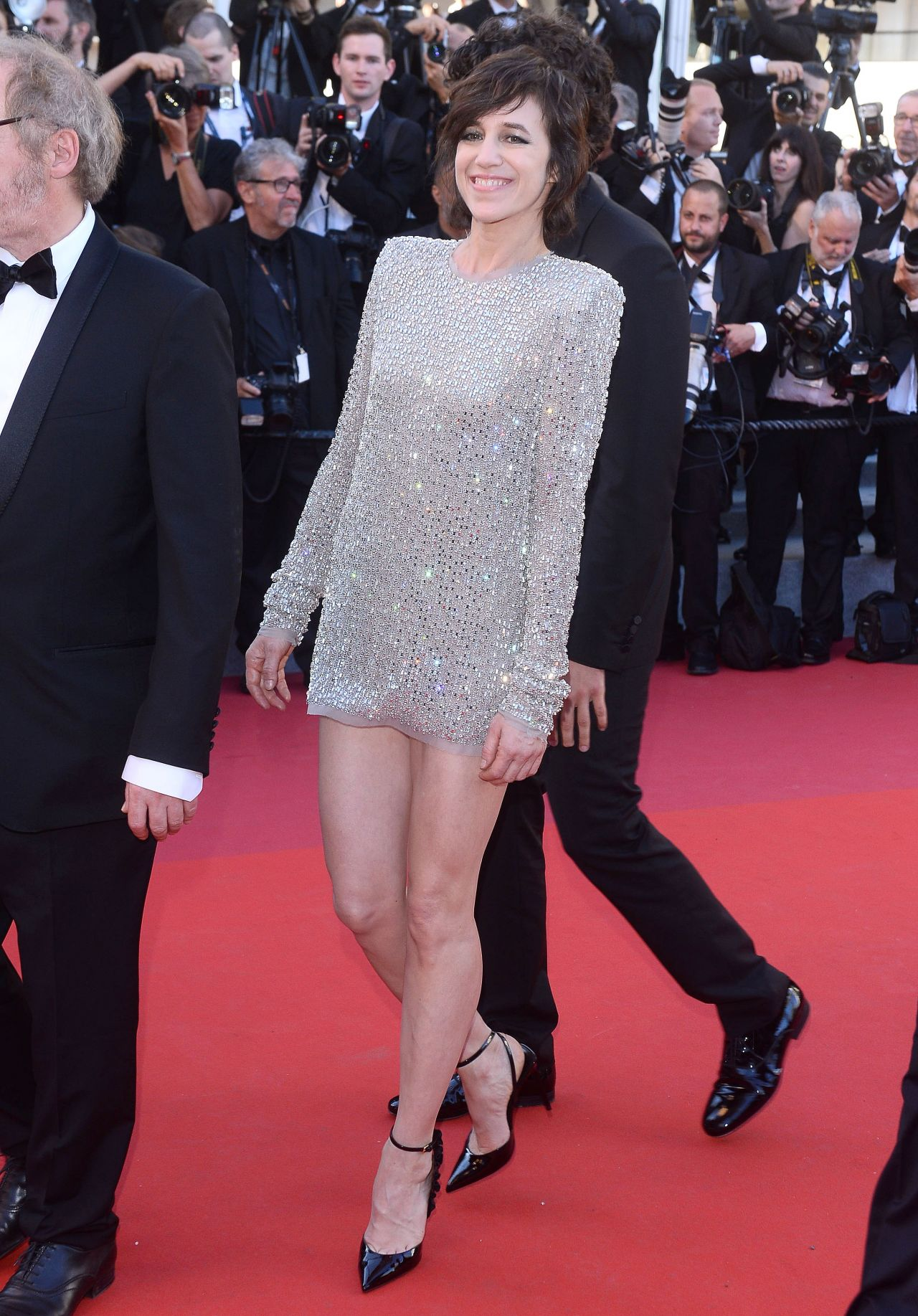 Charlotte Gainsbourg 70th Cannes Film Festival Opening