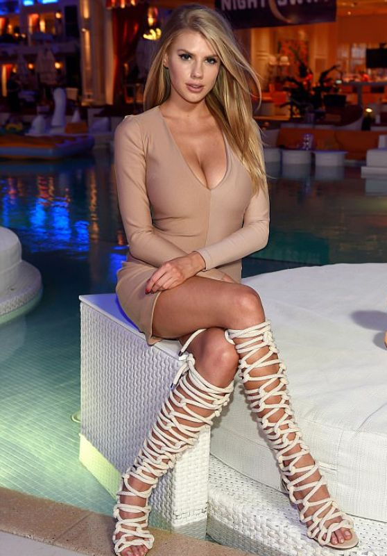 Charlotte McKinney - Grand Opening of NightSwim at Encore Beach Club at Wynn Las Vegas, May 2017
