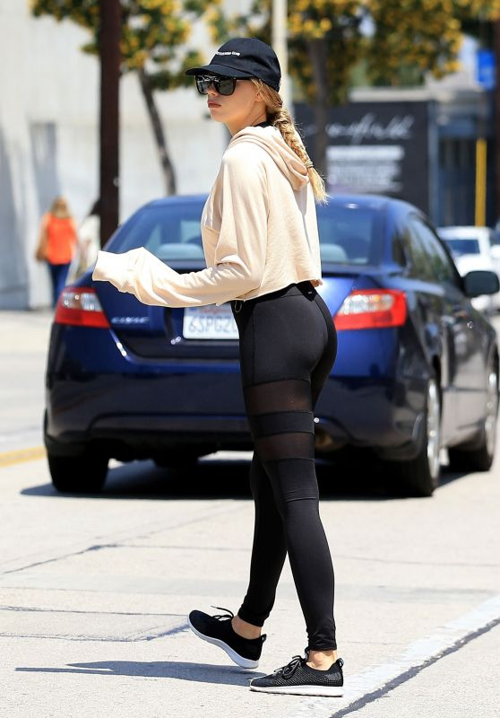 Charlotte McKinney in Spandex - West Hollywood, CA 05/12/2017
