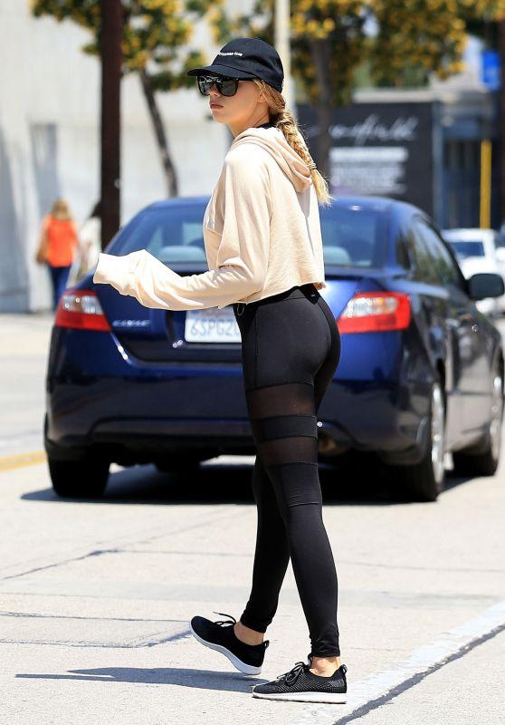 Charlotte McKinney in Spandex - West Hollywood, CA 05/12/2017