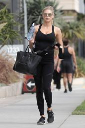 Charlotte McKinney in Workout Gear - Leaves the Gym in LA 05/24/2017