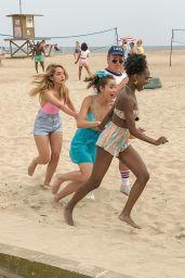 "Chloe Bennet - Filming Beach Scenes for ""Valley Girl"" Remake in LA 05/30/2017"