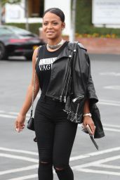 Christina Milian Cute Style - Los Angeles 05/10/2017