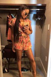 Christina Milian in Swimsuit - Social Media Pics 05/27/2017