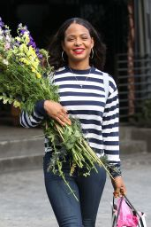 Christina Milian - Leaving Nicole Williams Bridal Shower at Hyde in West Hollywood 05/16/2017