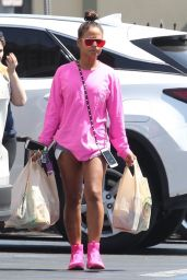 Christina Milian - Out for Grocery Shopping in North Hollywood 05/29/2017