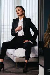 Christine Evangelista - Composure Magazine 2017 Issue and Photos