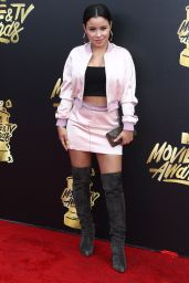 Cierra Ramirez – MTV Movie and TV Awards in Los Angeles 05/07/2017