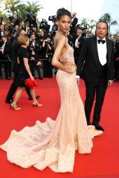 Cindy Bruna - 70th Anniversary at Cannes Film Festival 05/25/2017