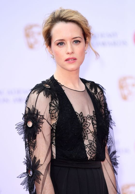 Claire Foy – BAFTA TV Awards in London 05/14/2017