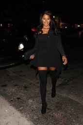 Claudia Jordan Night Out - at TAO in Hollywood 05/27/2017