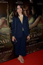 "Claudia Potenza – ""On The Milky Road"" Movie Premiere in Rome 05/08/2017"
