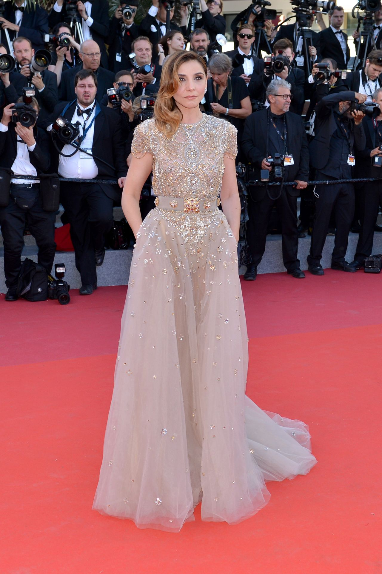 Cannes 2017 Heidi Klum Continues A Cannes Tradition In: 70th Cannes Film Festival Opening