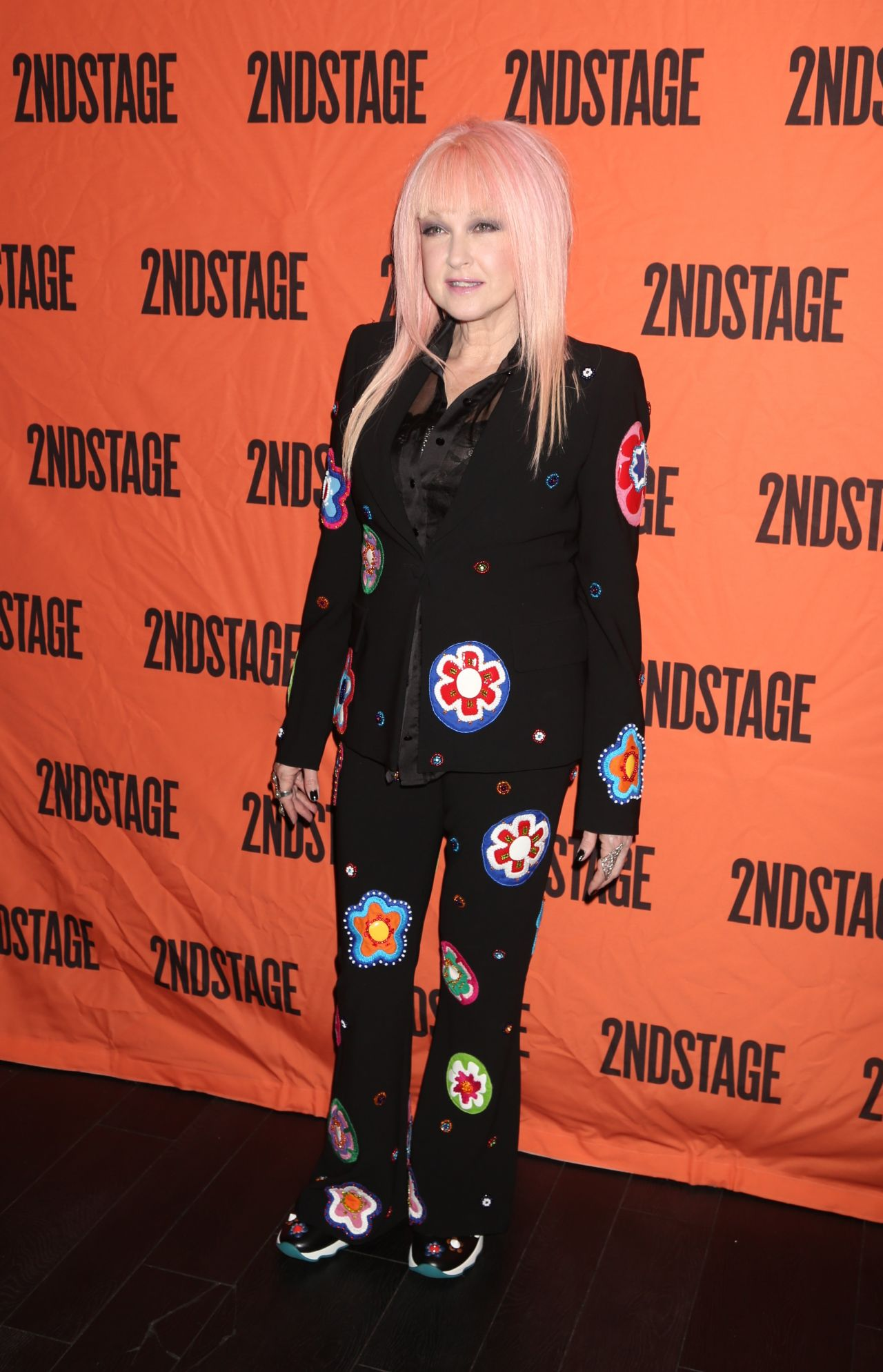 Cyndi Lauper 2ndstage Gala Honoring David Rockwell In
