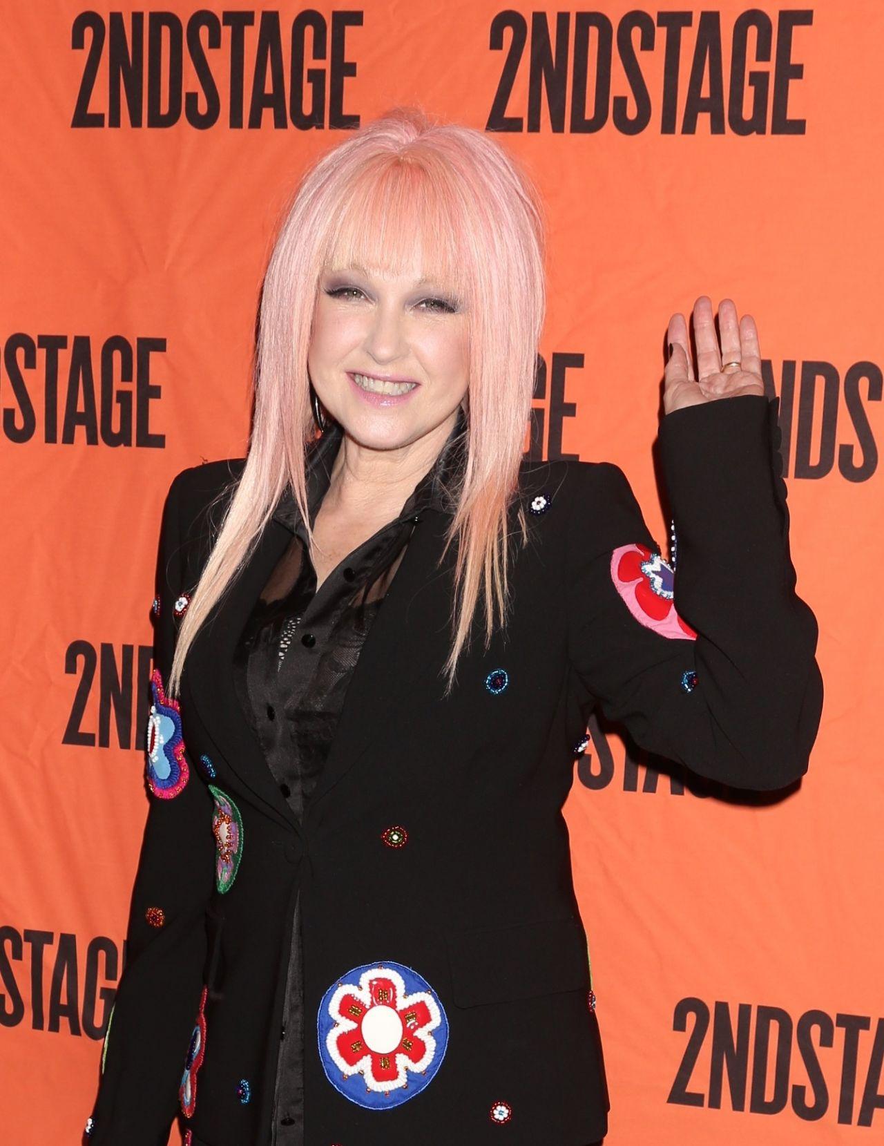Cyndi Lauper 2ndstage Gala Honoring David Rockwell In