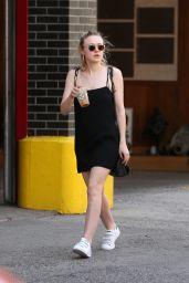Dakota Fanning Street Style - New York City 05/19/2017