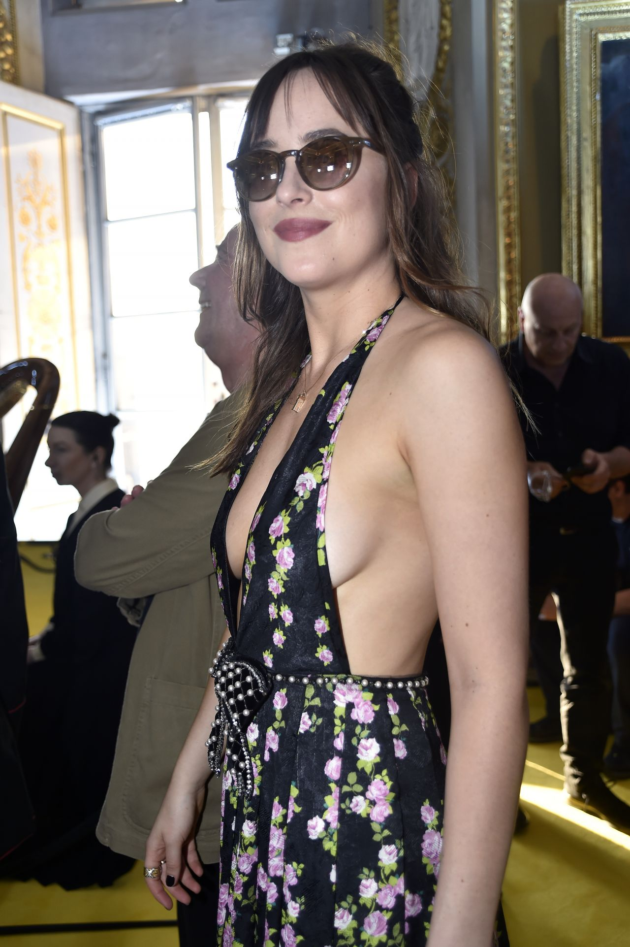 Dakota johnson 2019 gucci cruise in florence italy new images