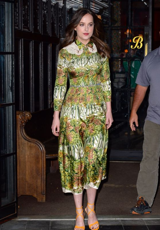 Dakota Johnson - Leaving Her Hotel in NYC 05/02/2017