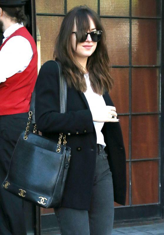 Dakota Johnson - Leaving Her Hotel in NYC 05/04/2017