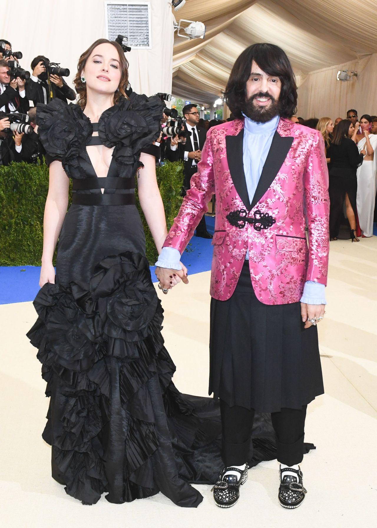 Dakota Johnson Met Gala In New York 05 01 2017