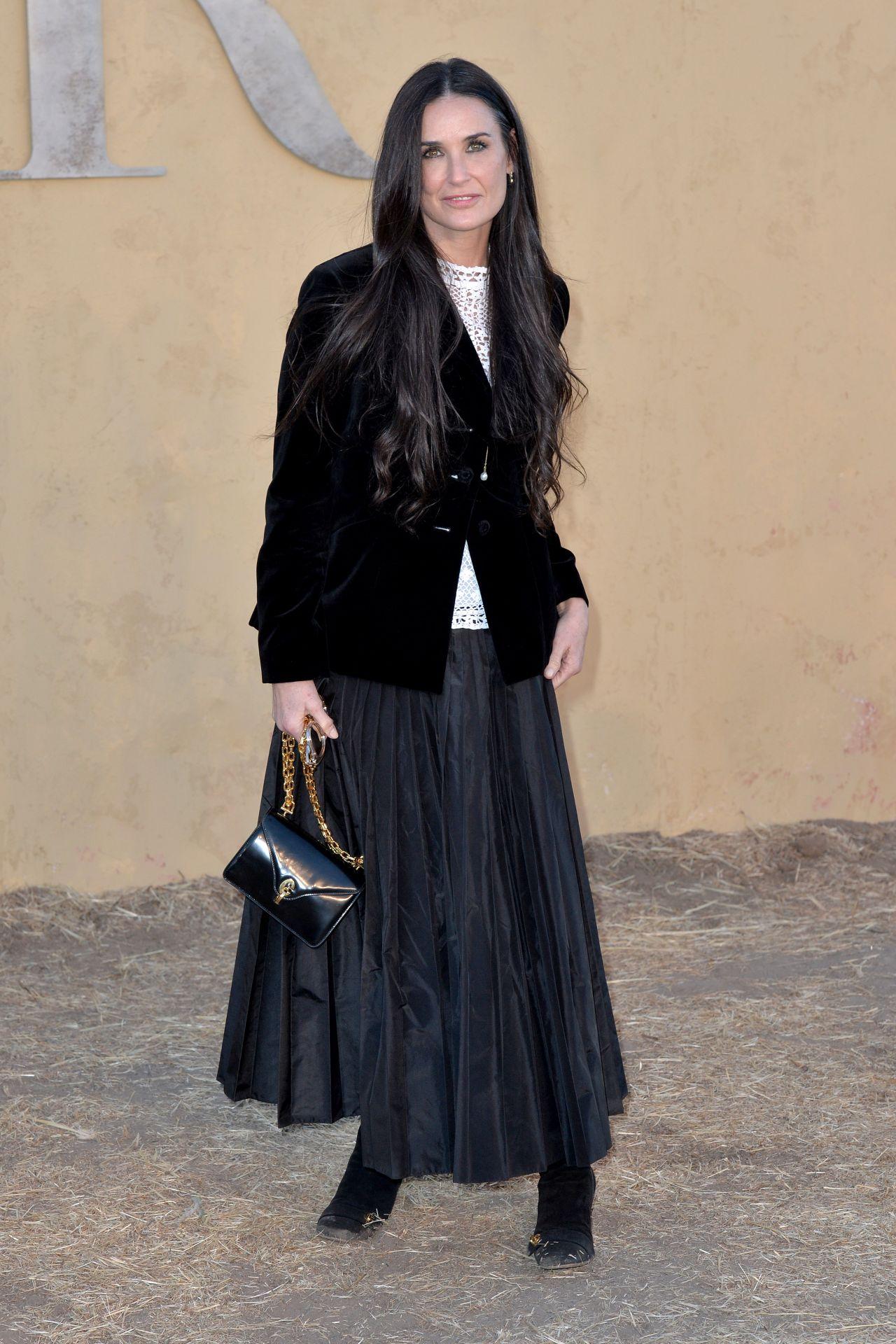 Demi Moore – Dior Cr...