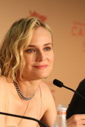 """Diane Kruger at """"In The Fade"""" Press Conference - Cannes Film Festival 05/26/2017"""