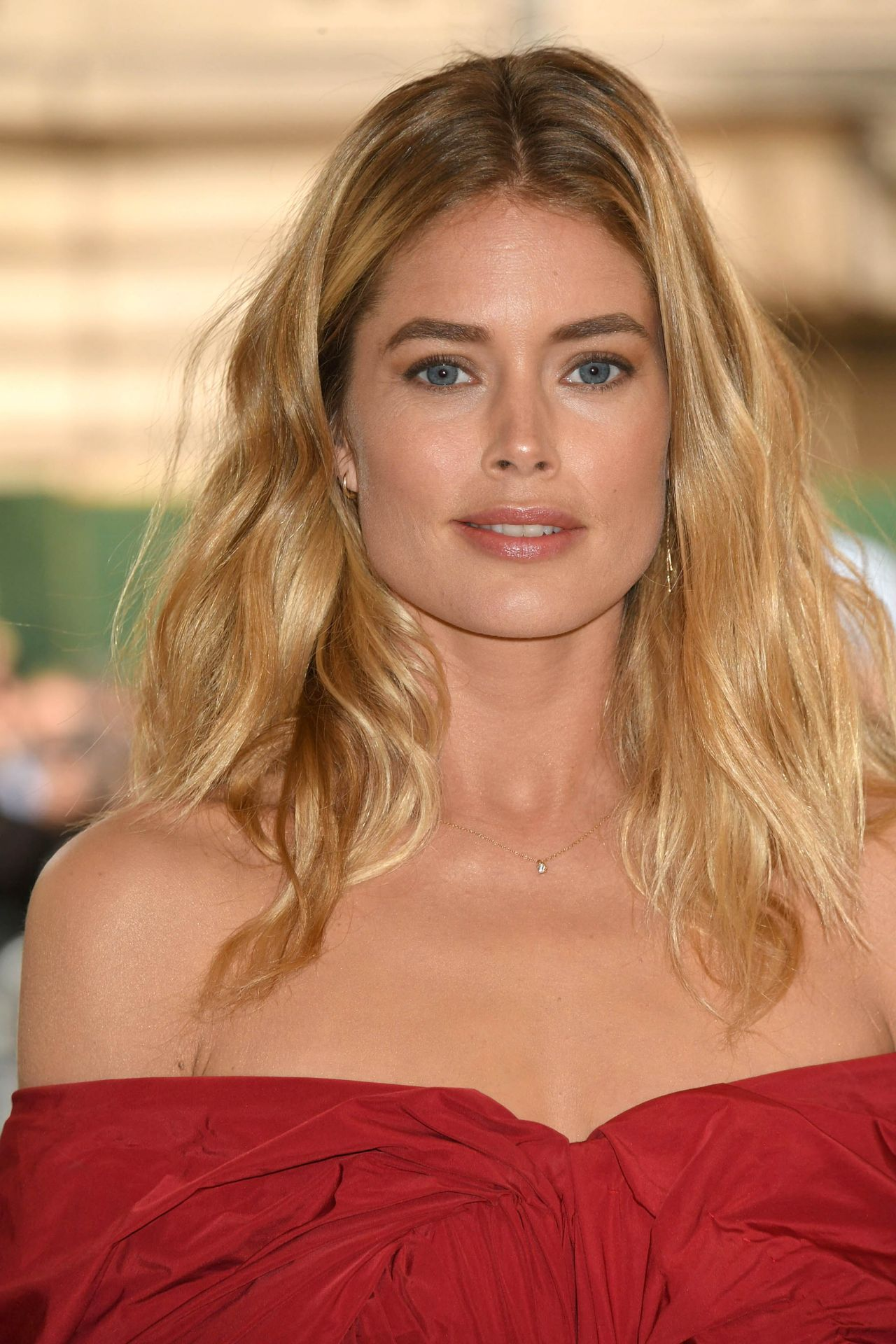 Doutzen Kroes at MET Gala in New York 05/01/2017