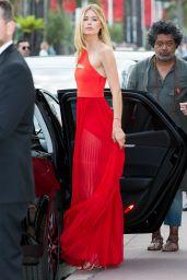 Doutzen Kroes - Leaving Martinez Hotel in Cannes 05/25/2017