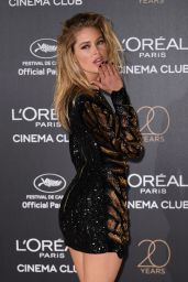 Doutzen Kroes on Red Carpet – L'Oreal 20th Anniversary Party in Cannes 05/24/2017