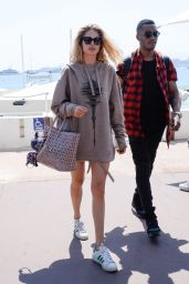 Doutzen Kroes With Her Boyfriend at Croisette in Cannes 05/25/2017