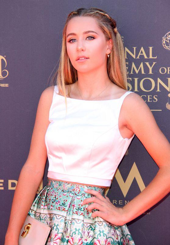Eden McCoy – Daytime Emmy Awards in Los Angeles 04/30/2017