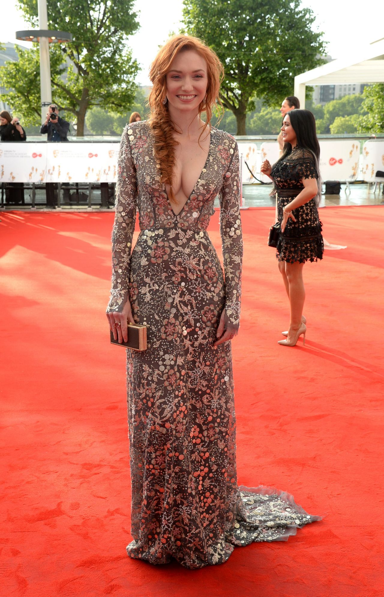 Eleanor Tomlinson Bafta Television Awards In London 05
