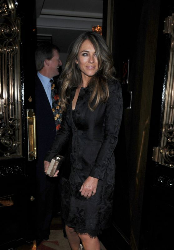 Elizabeth Hurley at Scott