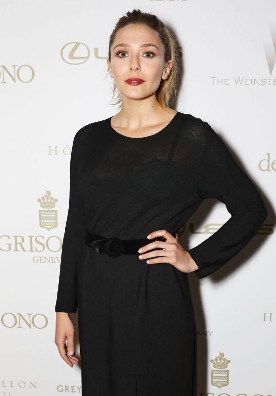 "Elizabeth Olsen at ""Wind River"" After Party in Cannes 05/20/2017"
