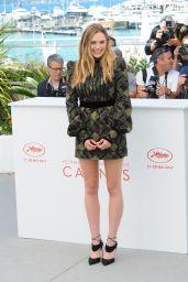"Elizabeth Olsen - ""Wind River"" Photocall at Cannes Film Festival 05/20/2017"