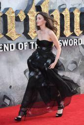 """Ella Hunt – """"King Arthur: Legend of the Sword"""" Premiere in London 05/10/2017"""