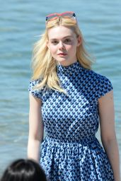 Elle Fanning at Croisette in Cannes, France 05/17/2017
