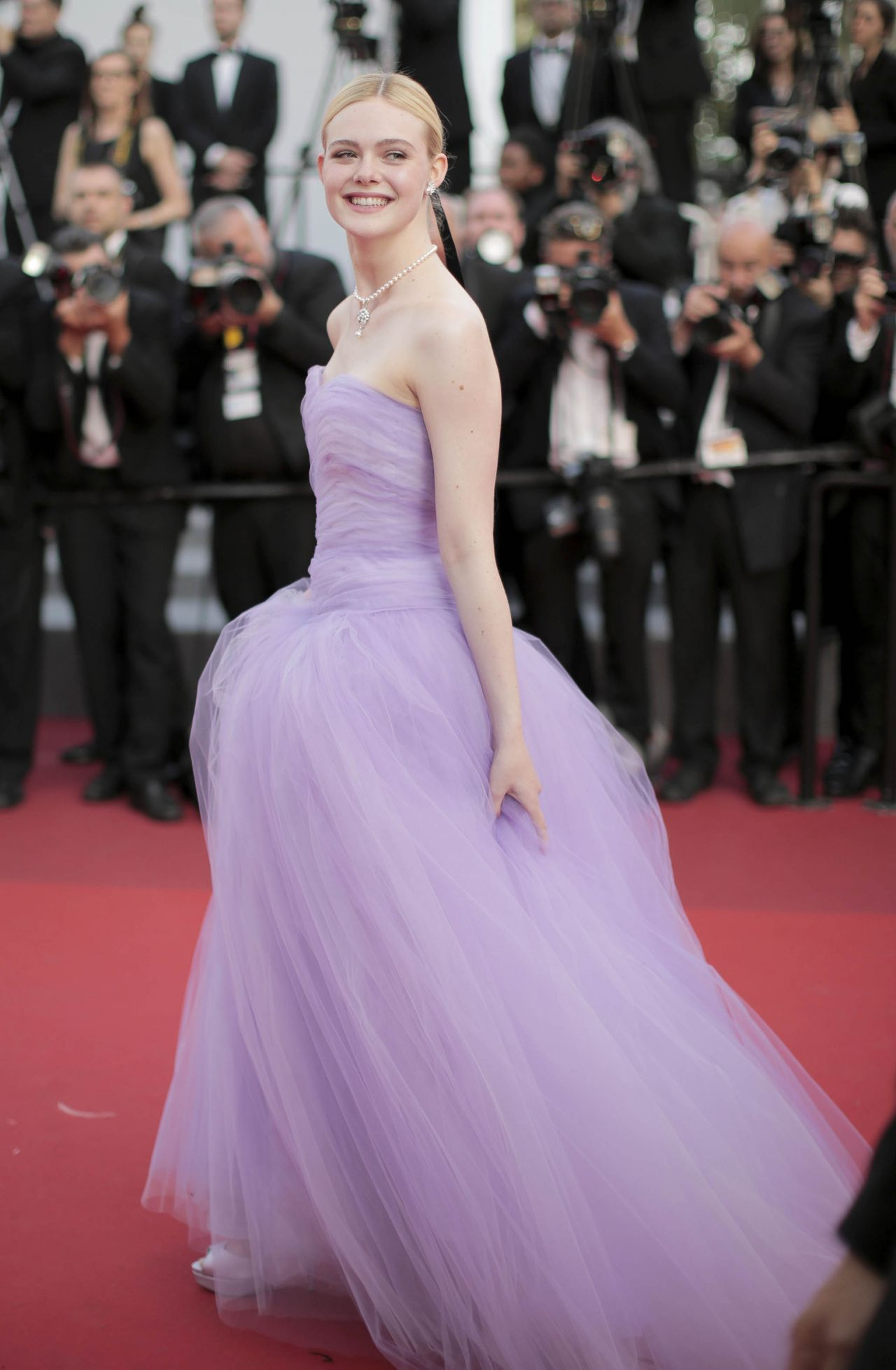 "Cannes 2017 Heidi Klum Continues A Cannes Tradition In: Elle Fanning At ""The Beguiled"" World Premiere"