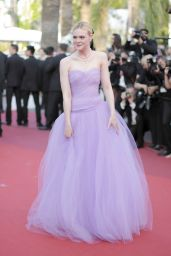 "Elle Fanning at ""The Beguiled"" World Premiere – Cannes Film Festival 05/24/2017"