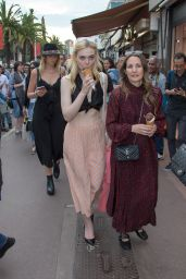 Elle Fanning - Buying Some Ice Cream at Croisette in Cannes 05/18/2017