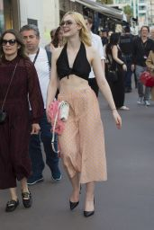 Elle Fanning - Enjoying a Stroll at Croisette in Cannes 05/18/2017