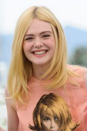 """Elle Fanning - """"How to Talk to Girls at Parties"""" Photocall at Cannes Film Festival 05/21/2017"""