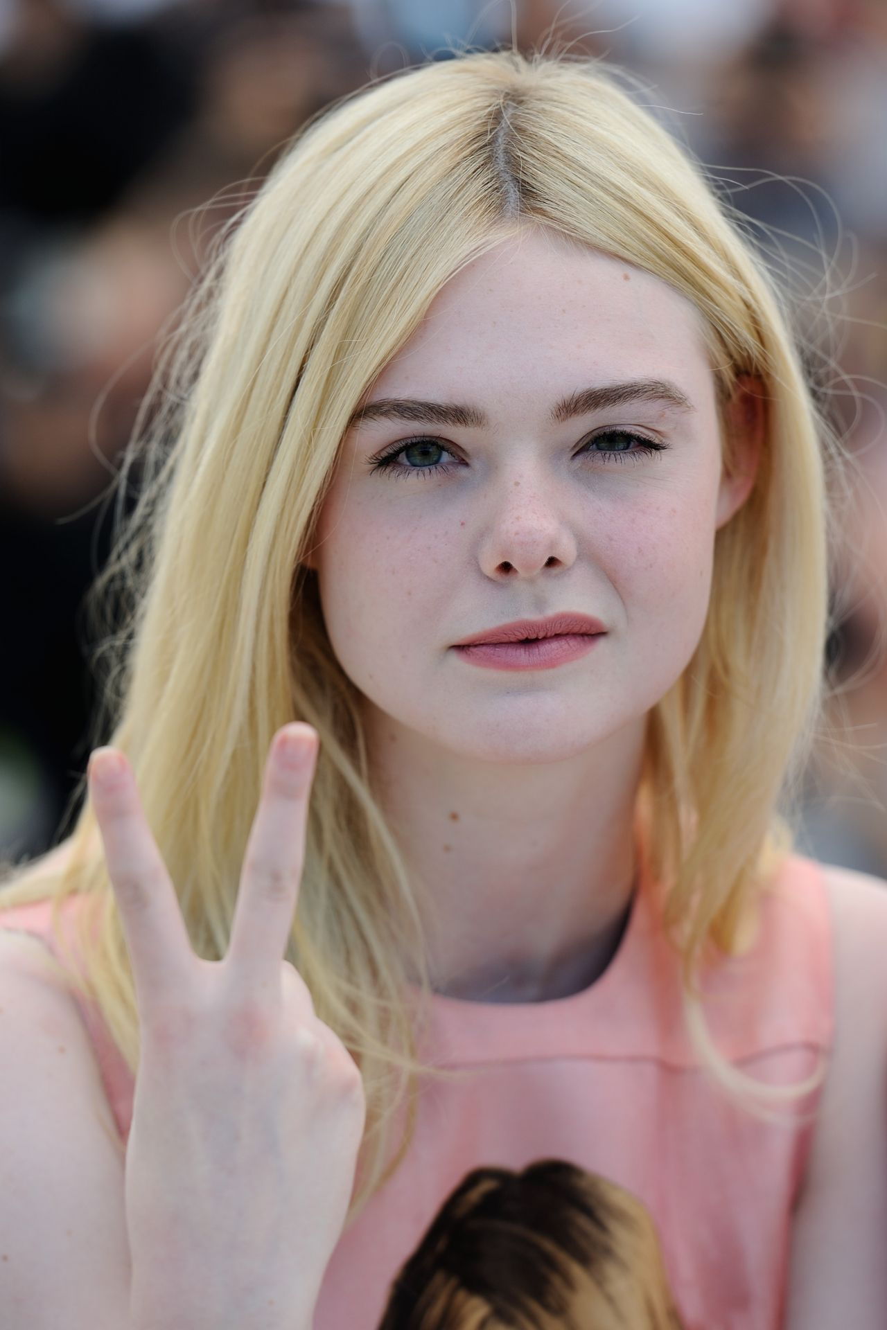 """Elle Fanning Covers Fashion Magazine Says She Loves Being: """"How To Talk To Girls At Parties"""" Photocall"""