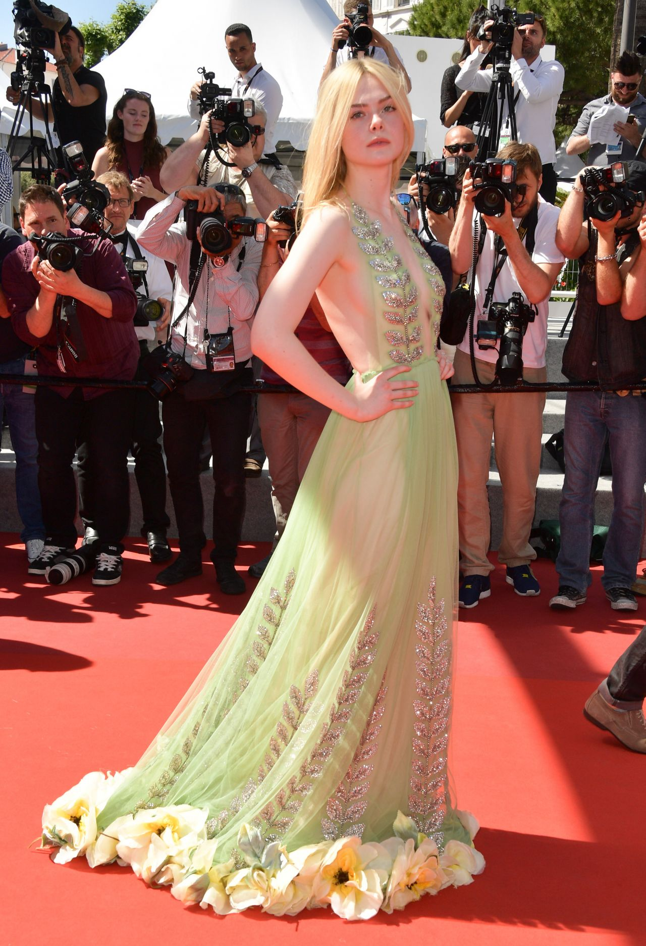 elle fanning how to talk