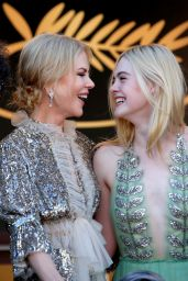 """Elle Fanning - """"How to Talk to Girls at Parties"""" Premiere in Cannes 05/21/2017"""