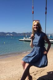 Elle Fanning - Out in Cannes, France 05/17/2017